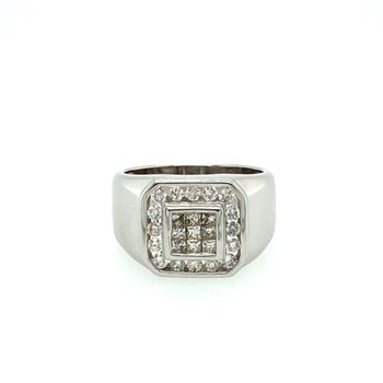 Princess Cut Diamond Fashion Ring