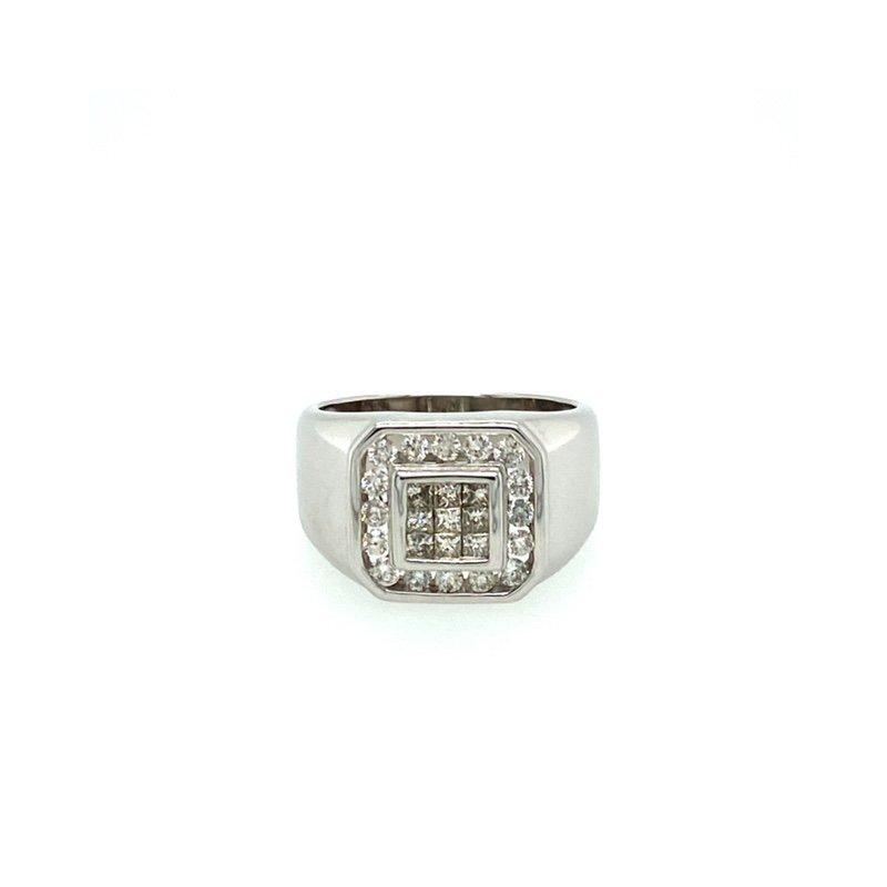 Murphy Pitard Signature Collection Princess Cut Diamond Fashion Ring