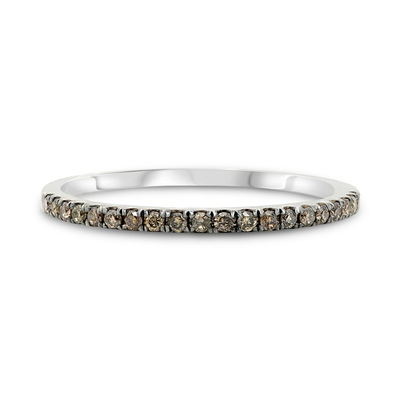 Murphy Pitard Signature Collection Champagne Diamond Stackable Band