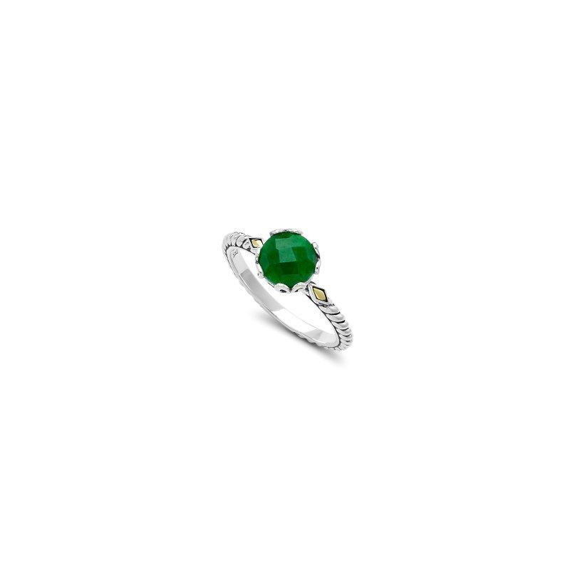 Samuel B. Emerald Birthstone Ring