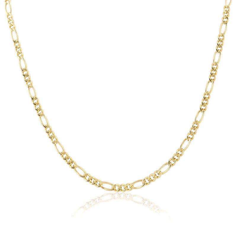 ela rae new york city Small Gold Vermeil Figaro Chain