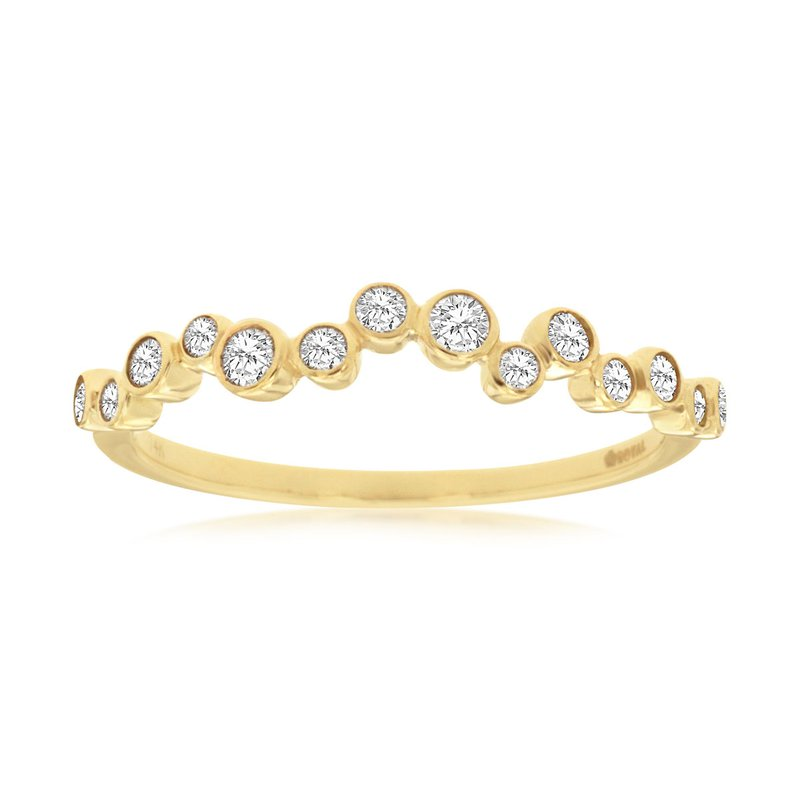 Murphy Pitard Signature Collection Diamond Bubble Stack Band
