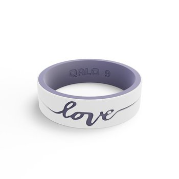 """Women's """"love"""" Silicone Ring Size 5"""