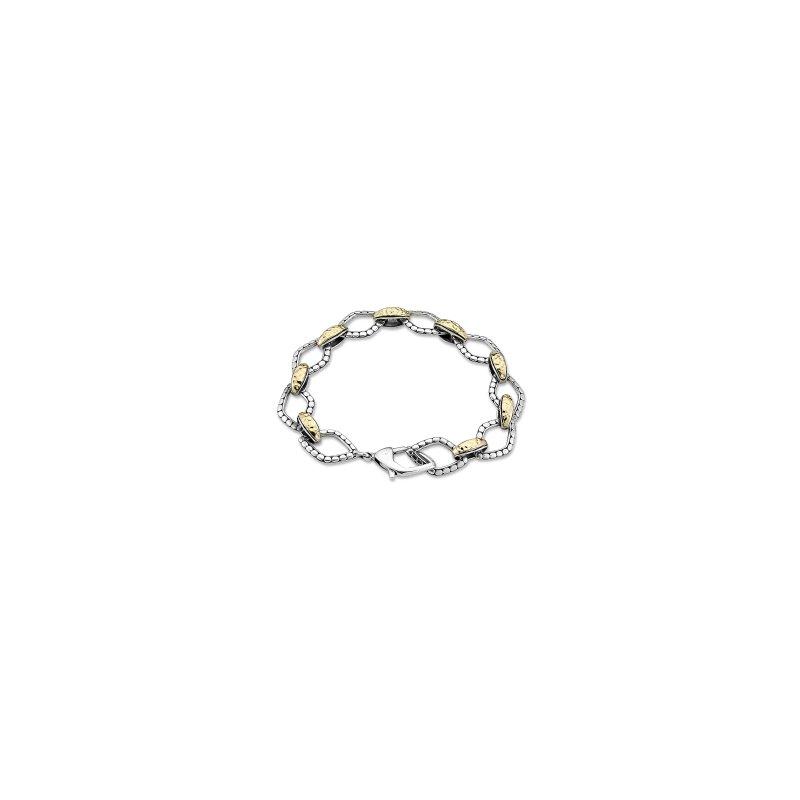 Samuel B. Two Tone Link Bracelet