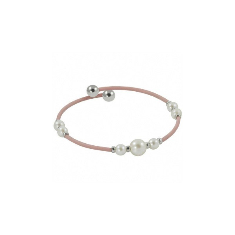 Murphy Pitard Signature Collection Freshwater Pearl Pink Cuff Bracelet