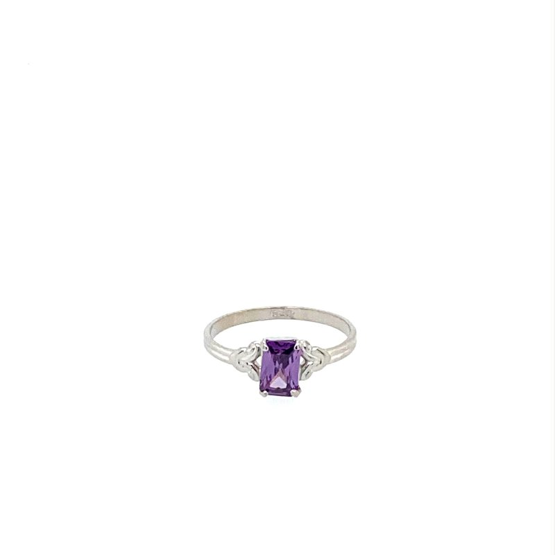 Murphy Pitard Signature Collection Amethyst Birthstone Ring