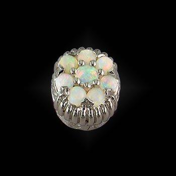 Caerleon Opal Cluster Bezel