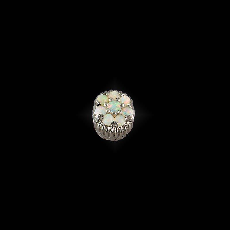 Goldman-Kolber Caerleon Opal Cluster Bezel
