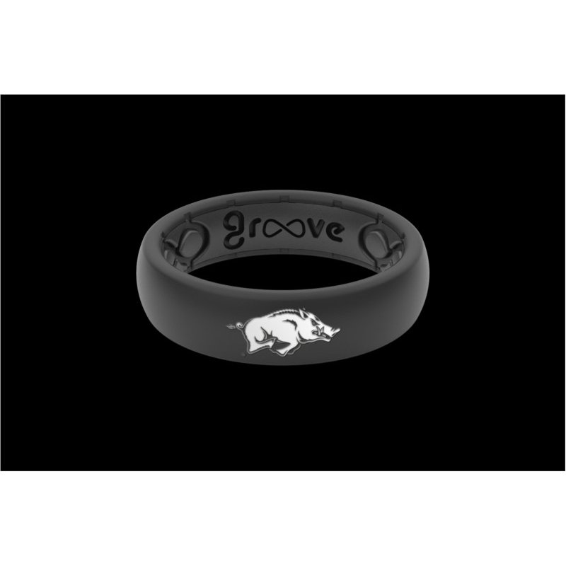 Groove Life Thin College Silicone Band - Size 8
