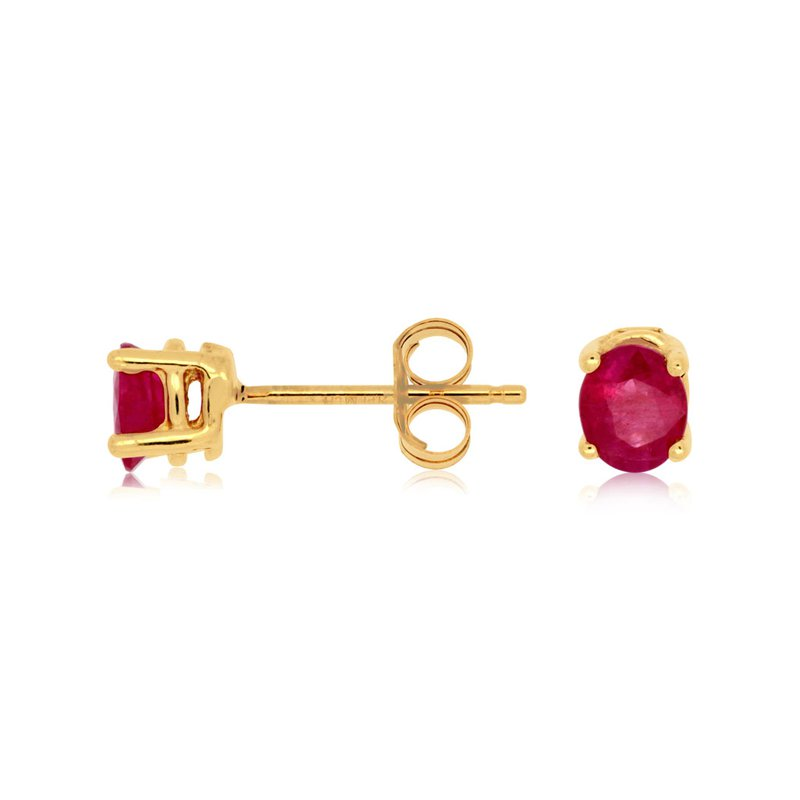 Murphy Pitard Signature Collection Ruby Stud Earrings
