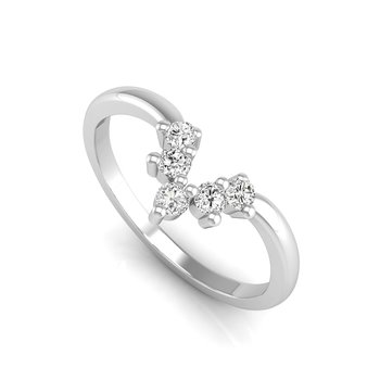 Tiara Collection Contoured Band