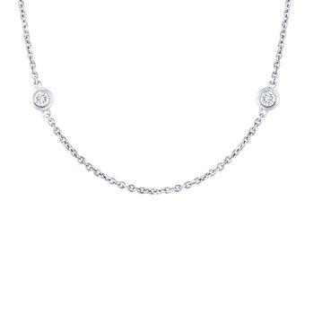 Diamond By The Yard Station Bracelet