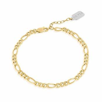 Flat Figaro Chain Bracelet