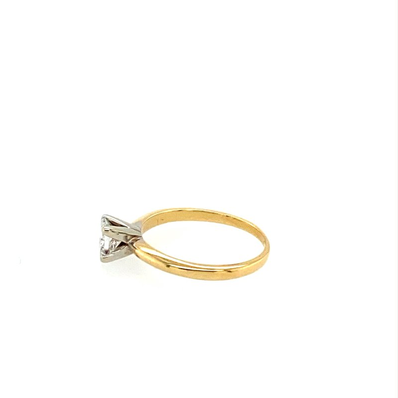 Murphy Pitard Signature Collection Princess Cut Solitaire Engagement Ring