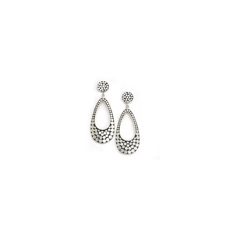 Samuel B. Dot Open Drop Earrings