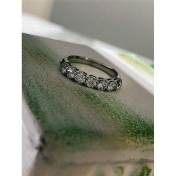 Diamond 1 Carats 7 Stone Band