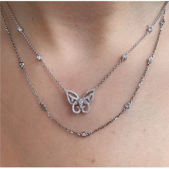 Diamond Link Fashion Necklace
