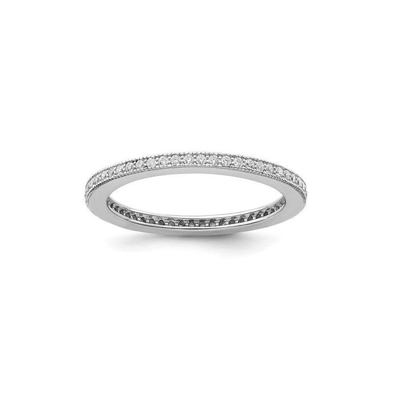 Murphy Pitard Signature Collection Zirconia Eternity Stack Band