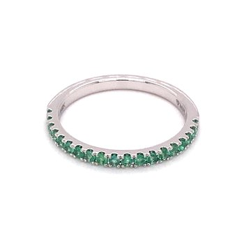 MPJ Exclusive Emerald Stackable Band