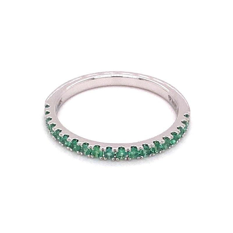 Murphy Pitard Signature Collection MPJ Exclusive Emerald Stackable Band