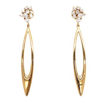Diamond Dangle Fashion Earrings