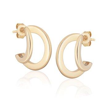 Double Huggie Hoop Earrings