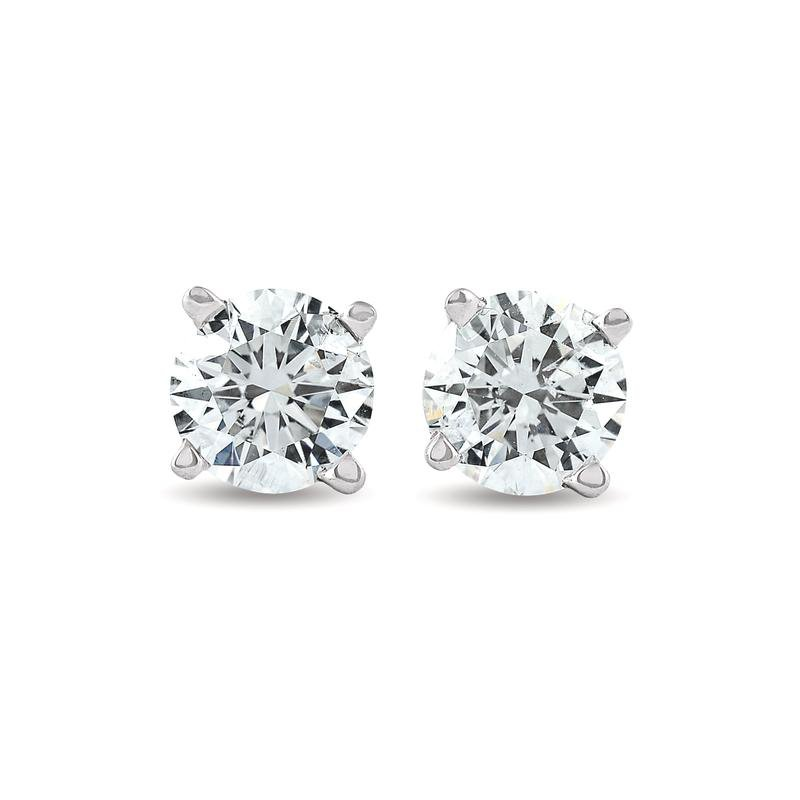 Murphy Pitard Signature Collection Traditional 1/4 Carats Diamond Stud Earrings