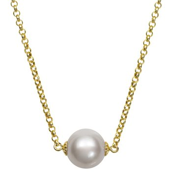 Freshwater Floating Pearl Necklace
