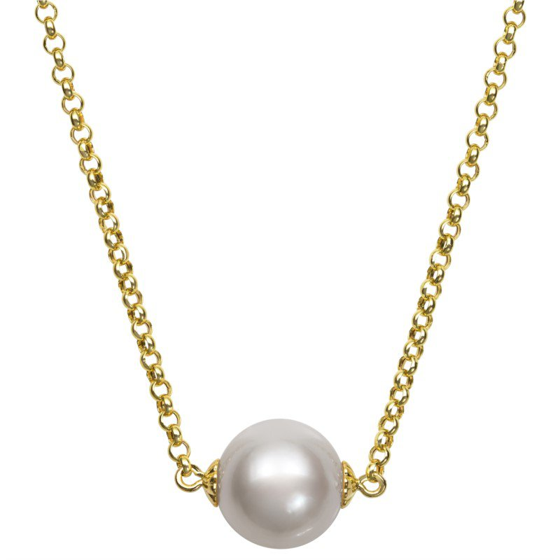 Murphy Pitard Signature Collection Freshwater Floating Pearl Necklace
