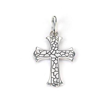 Pebble Cross Pendant
