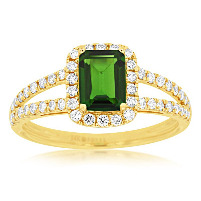 Murphy Pitard Signature Collection Diamond Accented Russalite Fashion Ring