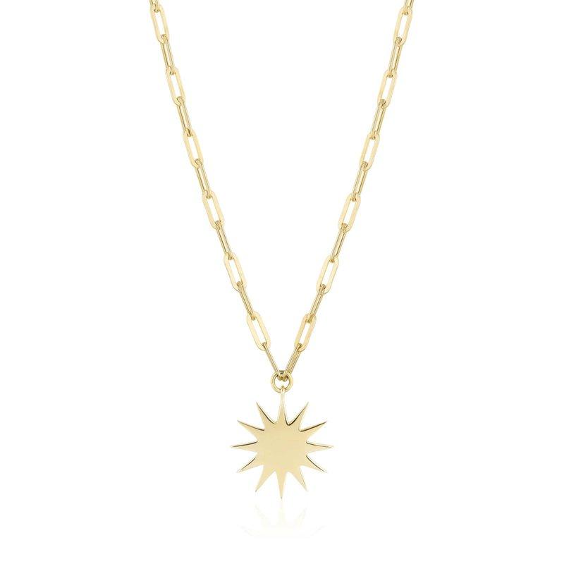 ela rae new york city Sunburst Charm Necklace
