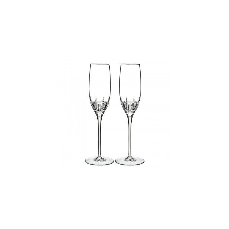 Waterford Crystal Marquis Champagne Flute Pair