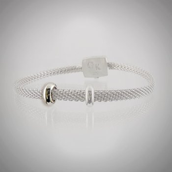 GK Coloures Small Stay Put Bead For Mesh Bracelet