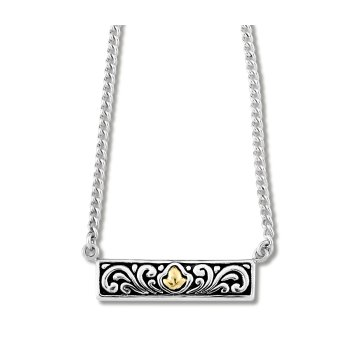 Bali Design Bar Necklace