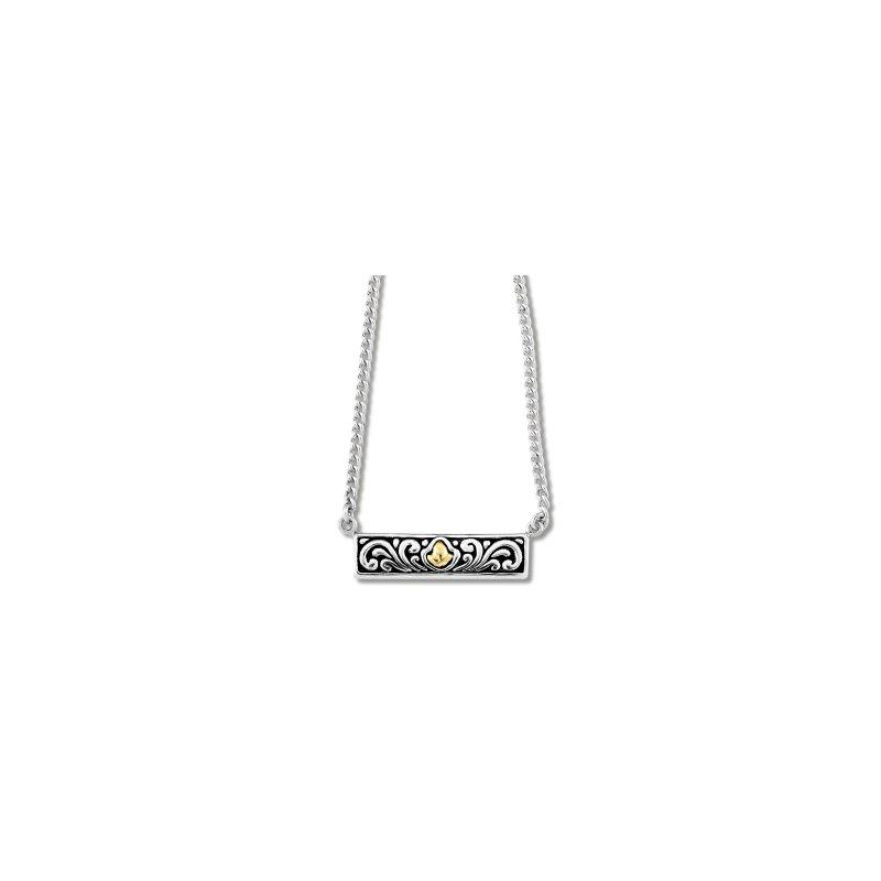 Samuel B. Bali Design Bar Necklace