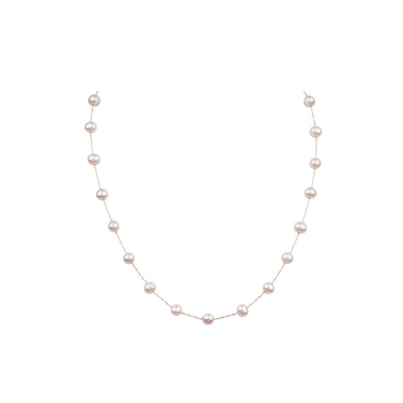 Murphy Pitard Signature Collection Tin Cup 6-6.5 Millimeter Pearl Necklace