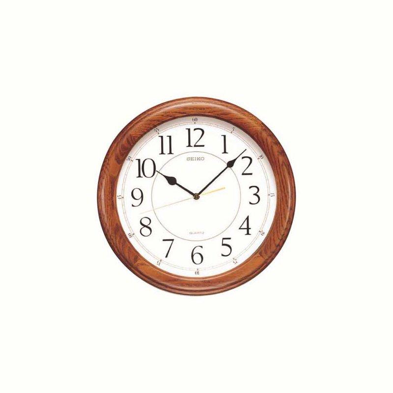 Murphy Pitard Signature Collection Seiko Yorkton Wooden Wall Clock