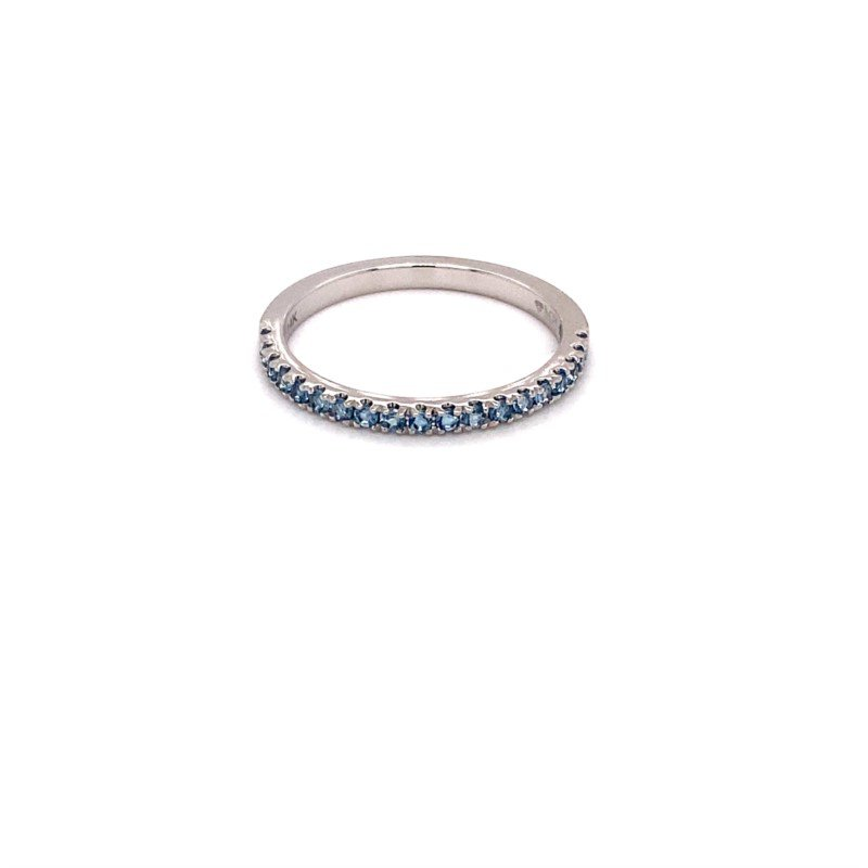 Murphy Pitard Signature Collection MPJ Exclusive Aquamarine Stackable Band