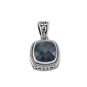 Silver Black Onyx Pendant
