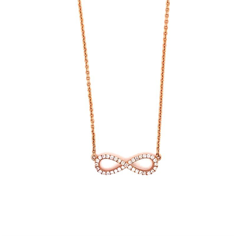 Murphy Pitard Signature Collection Diamond Infinity Necklace