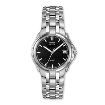 Murphy Pitard Black Dial Dress Watch