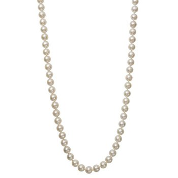 Freshwater Pearl 7-8 Millimeter Strand Necklace