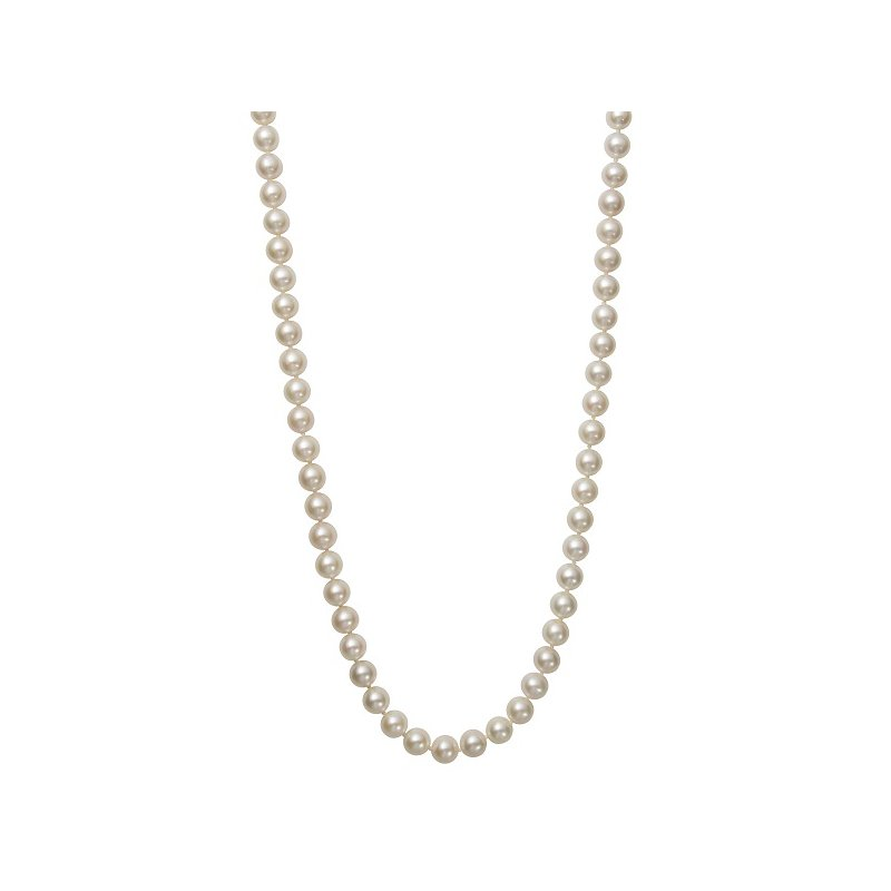 Murphy Pitard Signature Collection Freshwater Pearl 7-8 Millimeter Strand Necklace