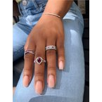 Murphy Pitard Signature Collection Diamond Multi Bar Bracelet