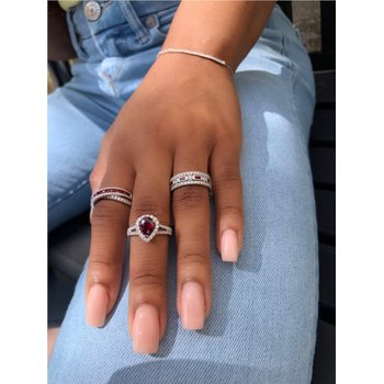 Diamond Multi Bar Bracelet