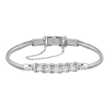 Tennis Bracelet Style .30 Carats Diamond Starter Bracelet