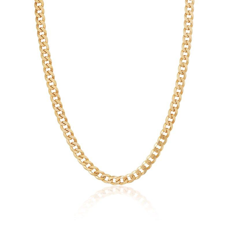 ela rae new york city Gold Vermeil Curb Link Chain