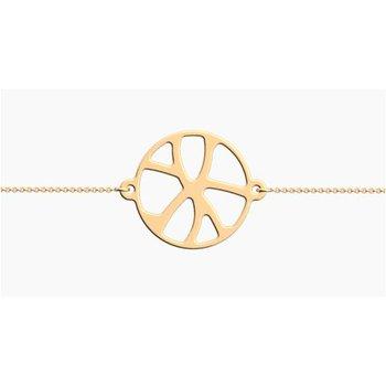 Girafe Round Chain Bracelet