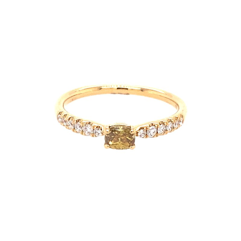 Murphy Pitard Signature Collection Yellow Diamond Stackable Fashion Ring